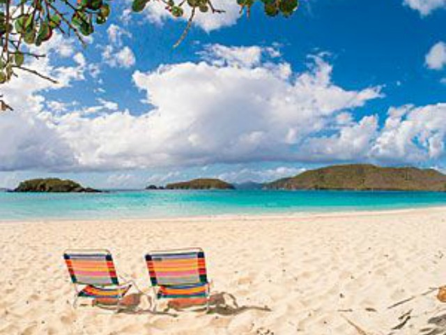 beach chair st. john