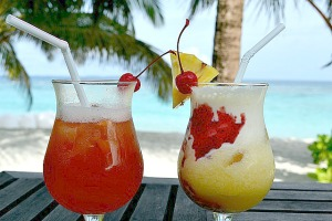 tropical drinks