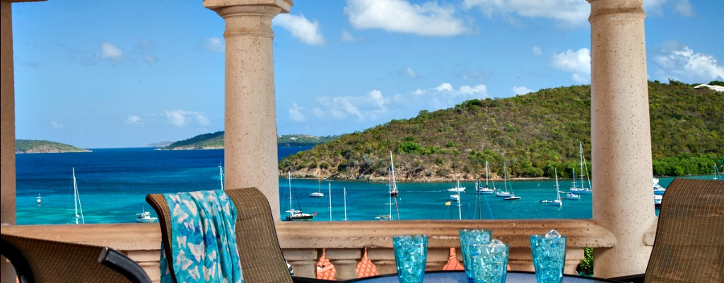 Ocean View Balcony Grande Bay Resort Cruz Bay St John USVI